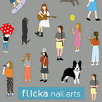 flicka nail arts 4seasons GIRLS