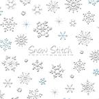 雪の結晶6 Snow Stitch
