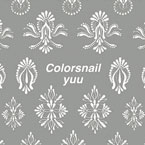 colors nail Yuu embroidery lace