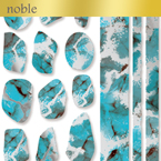 【noble】turquoise stone (ジェル専用)